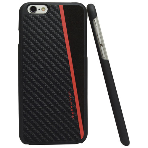 Viva Madrid Racha iPhone 6 Plus/6s Plus Fitted Hard Shelll Case - Black/Red