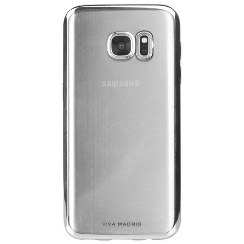 Viva Madrid Metalico Samsung Galaxy S7 Fitted Soft Shell Case - Gunmetal