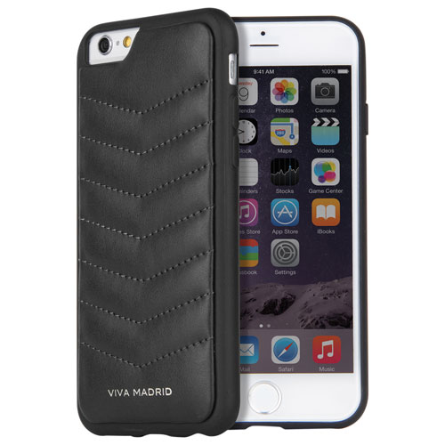 Viva Madrid Colcha iPhone 6/6s Fitted Hard Shell Case - Black