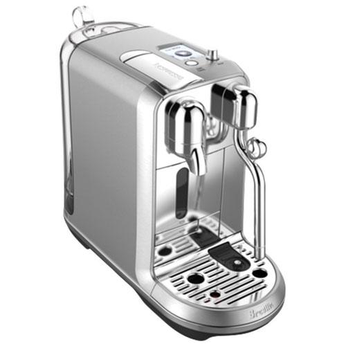 breville nespresso creatista plus 1oz pod espresso machine silver