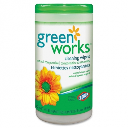 Green Works Compostable Cleaning Wipe