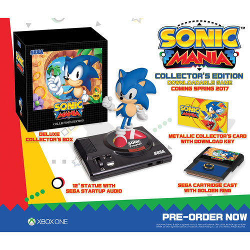Sonic Mania Collectors Edition (Xbox One) - English