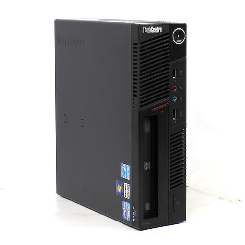 Lenovo M81, Intel i3-2100-3.1 Ghz, 12GB Memory, 2TB Hard Drive, DVDRW, Windows 10 Pro, Refurbished