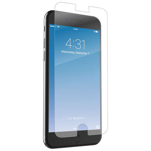 Zagg Invisibleshield Glass For Apple Iphone 7 Plus Screen Protector Best Buy Canada