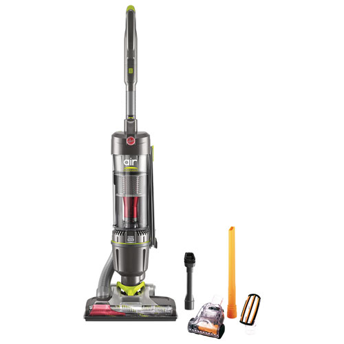 Hoover Air Steerable Pet Bagless Upright Vacuum - Grey
