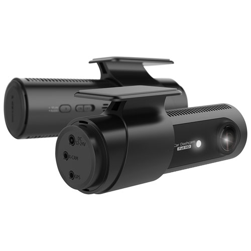 Caméra tableau bord HD intégrale 1080p 2 canaux avec Wi-Fi et carte microSD 32 Go de LG (LGD521)