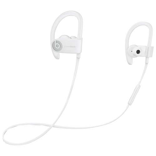 d0dc87d0323 Beats by Dr.Dre Powerbeats 3 In-Ear Bluetooth Sport Headphones - White |  Best Buy Canada