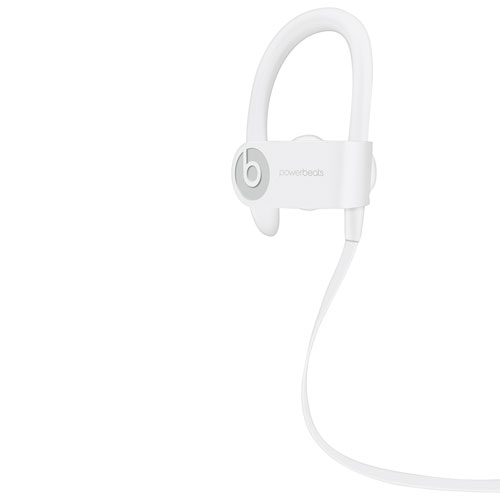 Beats By Dr.Dre Powerbeats 3 In Ear Bluetooth Sport Headphones   White by Best Buy