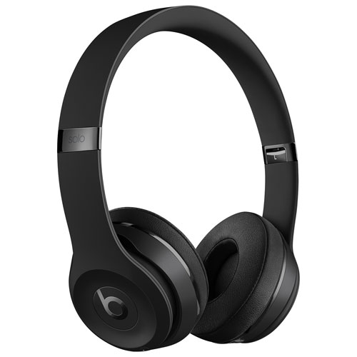 Beats by Dr. Dre Solo3 On-Ear Sound Isolating Bluetooth Headphones - Black    On-Ear Headphones - Best Buy Canada 9450c3606