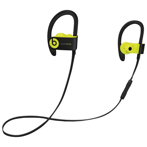 Écouteurs bouton sport Bluetooth Powerbeats 3 de Beats by Dr.Dre - Jaune
