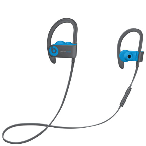 Earbuds beats blue - blue tooth fitness earbuds