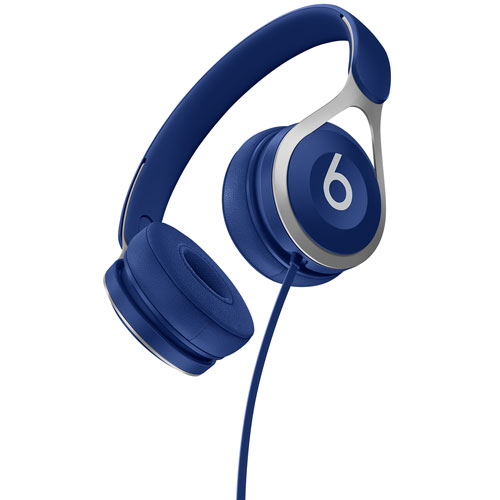 Beats by Dr. Dre EP On- Ear Sound Isolating Headphones with Mic - Blue