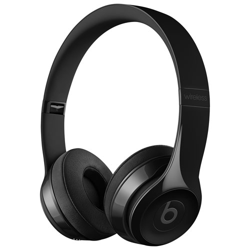 Beats by Dr. Dre Solo3 On-Ear Sound Isolating Bluetooth Headphones - Gloss  Black   On-Ear Headphones - Best Buy Canada 5eaa55366