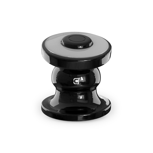 Caseco Core 360 Magnetic Car Mount for iPhone and Android -Jet Black