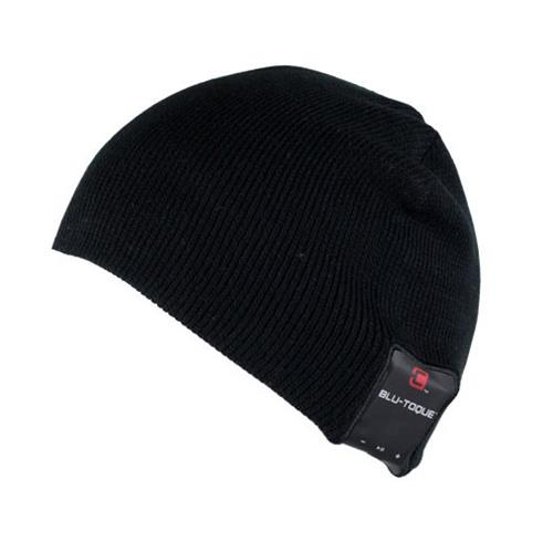 Caseco Dual Layered Bluetooth Toque Everyday Style Hat - Black