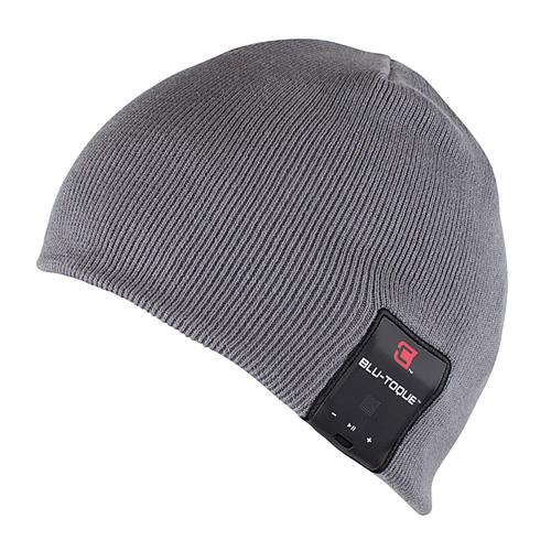 Caseco Dual Layered Bluetooth Toque Everyday Style Hat - Gray