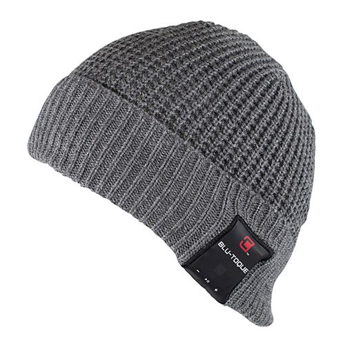 Caseco Bluetooth Toque Men's Chunky Cuff Style - One Size - Gray