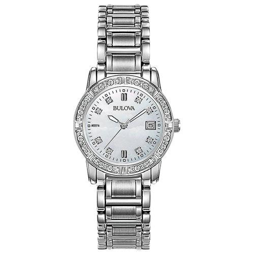 prix compétitif 149b7 c28ae Montre-bijou analogique de 28 mm pour femmes Diamonds de Bulova - Argenté -  nacre