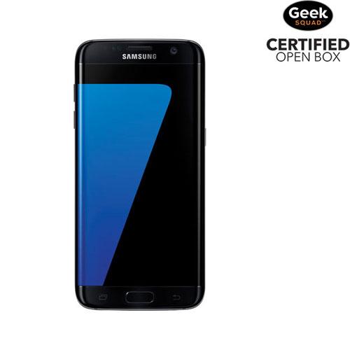 Samsung Galaxy S7 edge 32GB Smartphone - Black Onyx - Carrier SIM Locked - Open Box