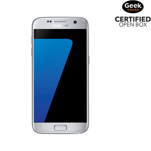 Samsung Galaxy S7 32GB Smartphone - Titanium Silver - Carrier SIM Locked - Open Box