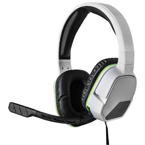 Casque d'écoute à suppression du bruit Afterglow LVL 3 de PDP pour Xbox One - Blanc