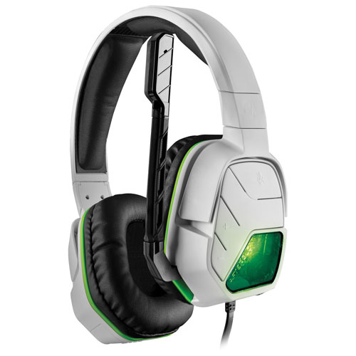 PDP Afterglow LVL 5 Plus Over-Ear Noise Cancelling Headset for Xbox One - White