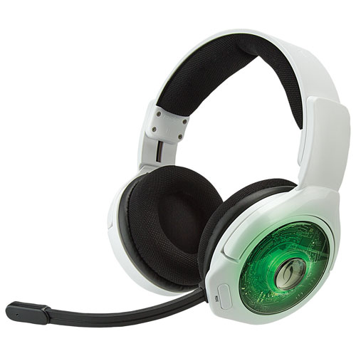 PDP Afterglow 9 Plus Over-Ear Noise Cancelling Wireless Headset for Xbox One - White