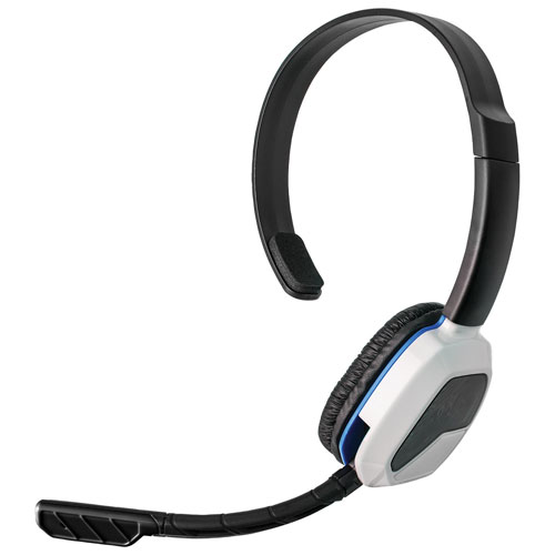 PDP Afterglow LVL 1 On-Ear Sound Isolating Headset for PS4 - White