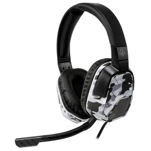 Casque de jeu à annulation de bruit pour PS4 Afterglow LVL 5 Plus de PDP - Camouflage blanc