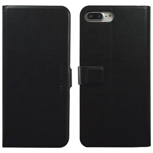 Étui folio Finura de Viva Madrid pour iPhone 7/8 Plus - Noir