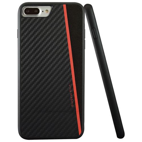 Étui rigide ajusté Racha de Viva Madrid pour iPhone 7/8 Plus - Noir - Rouge