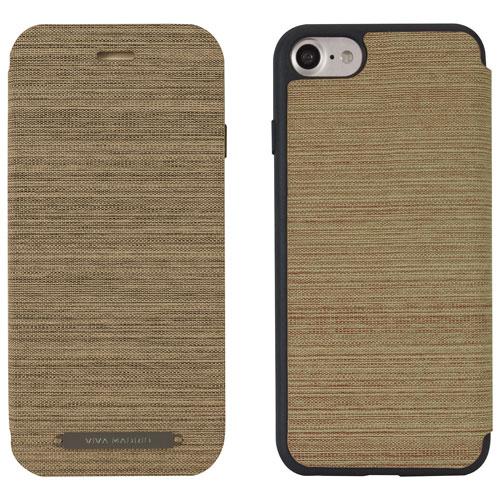 Viva Madrid Atleta iPhone 7/8 Plus Folio Case - Brown/Blue