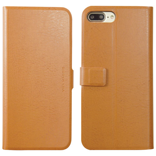 Viva Madrid Finura iPhone 7/8 Plus Folio Case - Brown