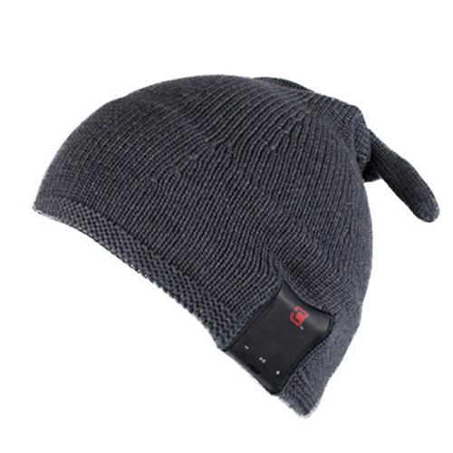 Caseco Men's Elf Style Bluetooth Toque - Dark Grey