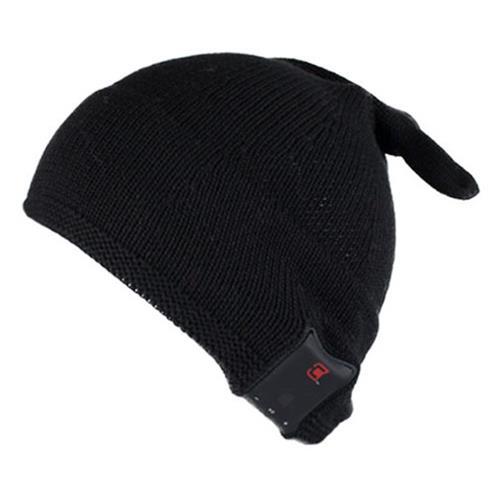 Caseco Men's Elf Style Bluetooth Toque - Black