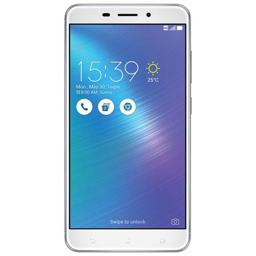 Asus ZenFone 3 Laser 32GB Smartphone - Silver - Unlocked