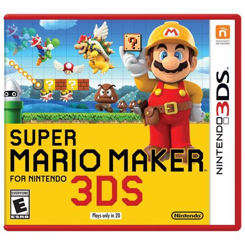 Super Mario Maker pour Nintendo 3DS