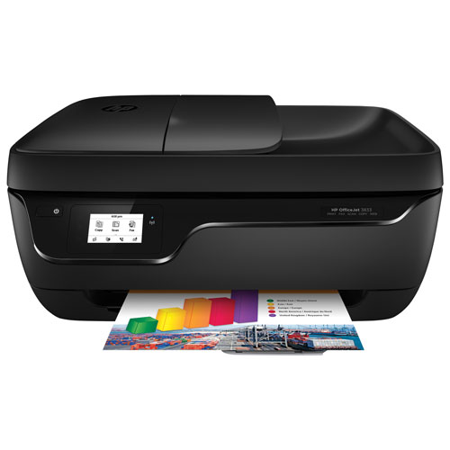 HP OfficeJet 3833 Wireless All-in-One Inkjet Printer