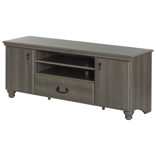 "South Shore Noble 65"" TV Stand - Grey Maple"