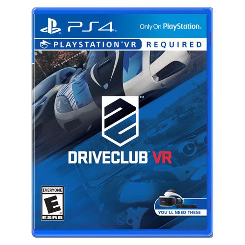 DRIVECLUB VR for PlayStation VR (PS4)