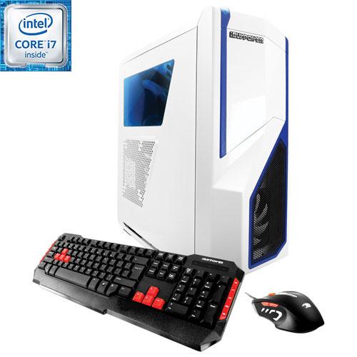 iBUYPOWER CA670K Gaming PC (Intel i7-6700K/1TB HDD/120GB SSD/16GB RAM/AMD RX480/Win 10) - English