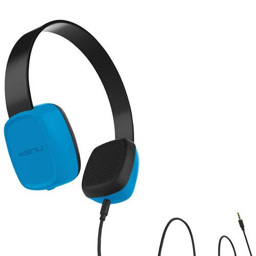 Casque d'écoute pour enfants Groovies de Kenu - Bleu
