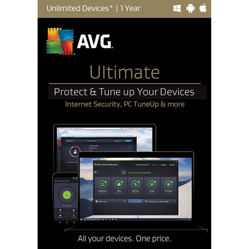 AVG Ultimate - Unlimited Devices - 1 Year