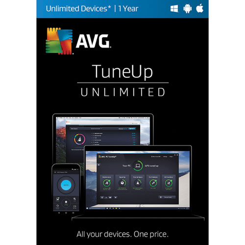 AVG TuneUp - Unlimited - 1 Year