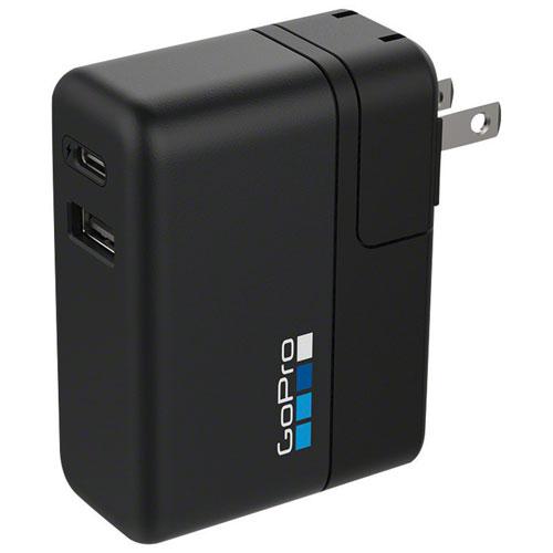 Chargeur international à 2 ports Supercharger pour GoPro