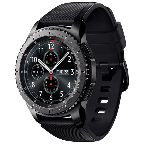 9fa786b45a5 Samsung Gear S3 Frontier Smartwatch with Heart Rate Monitor   Smartwatches  - Best Buy Canada