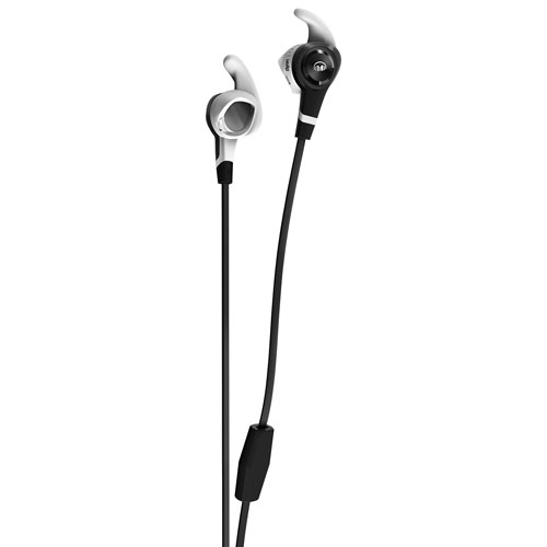 Monster iSport Strive In-Ear Sound Isolating Headphones with Mic - Black