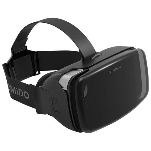 Homido V2 Vr Headset Black Virtual Reality Headsets Best Buy