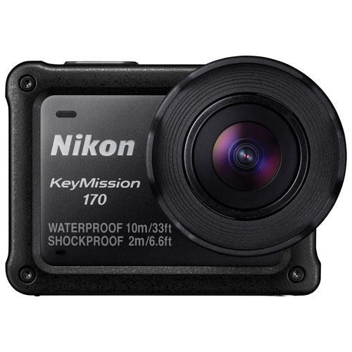 Nikon KeyMission 170 Waterproof 4K Action Camera