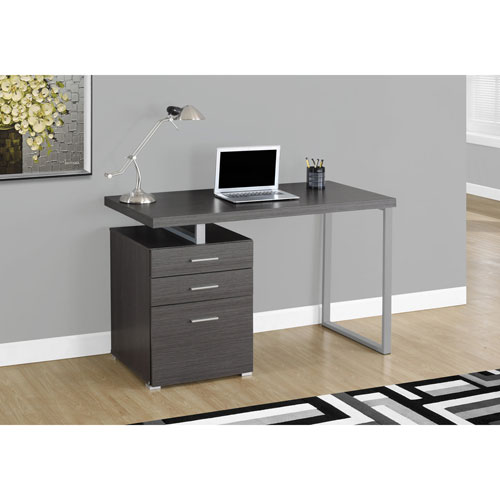 Contemporary Computer Desk Grey Desks Amp Workstations